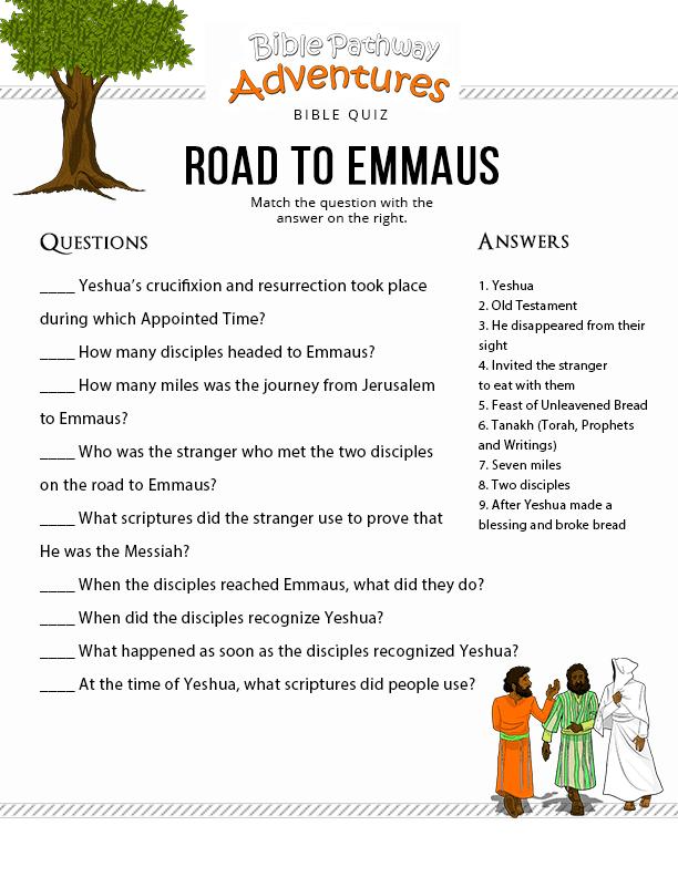 16 Road-Emmaus